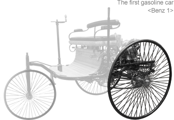 The first gasoline car <Benz 1>